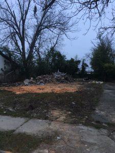 Hicks St. Demo Debris